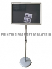Poster Stand With Frame