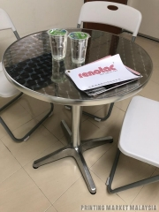 Rounder Aluminium Table