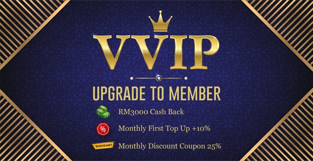 Upgrade to VVIP member
