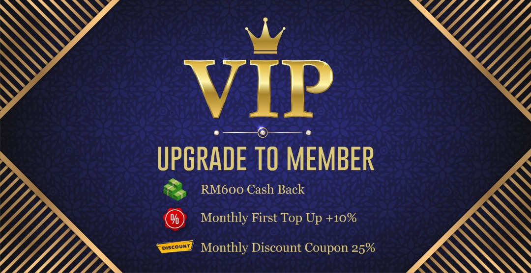 Upgrade to VIP member