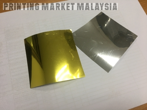 Gold Sticker Gloss 150um